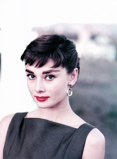 Audrey Hepburn photographed by Bud Fraker during the filming of Sabrina, 1953.