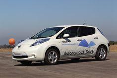 La conduite autonome - Nissan récompensé  En savoir plus www.nissan-couriant.fr #Leaf #Futur
