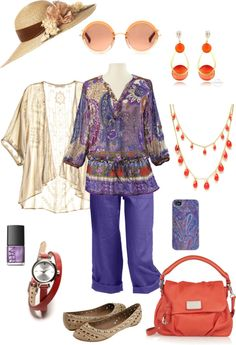 Lazily Purple, created by loreanh on Polyvore