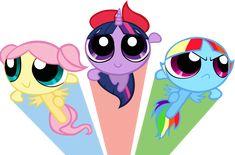 The Ponypuff Girls by SonicRainPwn.deviantart.com on @deviantART