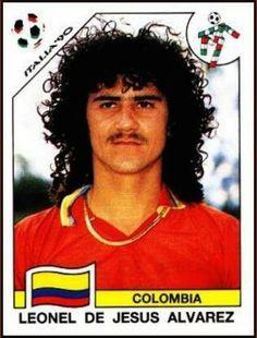 Believe it or not, Leonel Alvarez wasn't even the worst looking Colombian in 1990