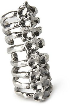 ShopStyle: Bjorg Double knuckle spine ring