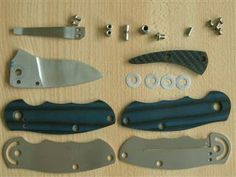 Folding Knife Tutorial - ever wonder how they work?