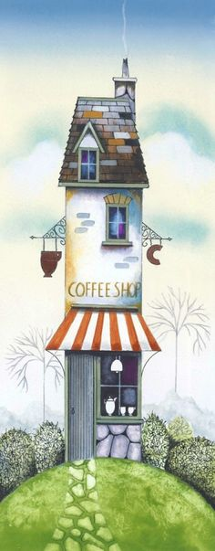 'The Coffee Shop' by Gary Walton