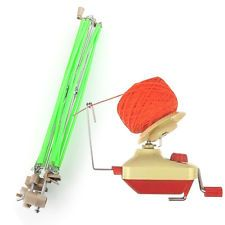 Hand Operated Umbrella Shaped Yarn Swift & Wool Ball Winders Yarn Ball  Machine GREAT INSTRUCTIONS HERE 😀