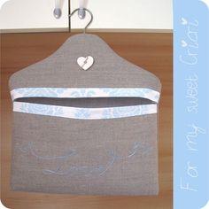 Clothespin bag tutorial by Giuliedda