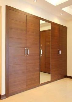 Closet Door Design Ideas and Options: Pictures, Tips & Wardrobe Door Designs, Wardrobe Design Bedroom, Bedroom Furniture Design, Wardrobe Closet, Closet Designs, Closet Bedroom, Wardrobe Sale, White Wardrobe, Mirrored Wardrobe