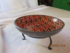 MW Vintage Bowl from Neiman Marcus, Porcelain and Pewter, made in Japan, Hong Ko #NeimanMarcus