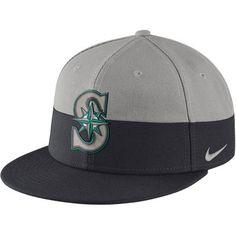 5dcfa3bd292 Men s Seattle Mariners Nike Gray Navy True Color Snapback Adjustable Hat
