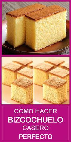 Baking Recipes, Cake Recipes, Easy Vanilla Cake Recipe, Dessert Bread, Cookie Desserts, Cake Cookies, Food Videos, Deserts, Yummy Food