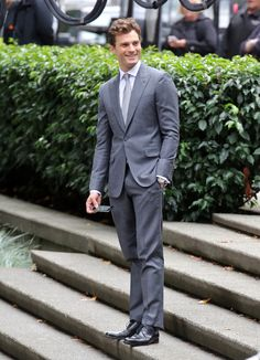 Jamie Dornan on Fifty Shades Set for ReShoots (10/13/2014)