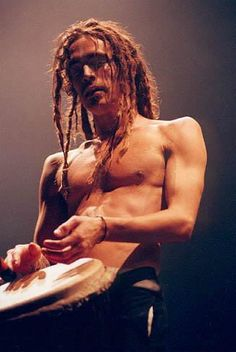 Young Brandon Boyd with dreads and without tattoos...