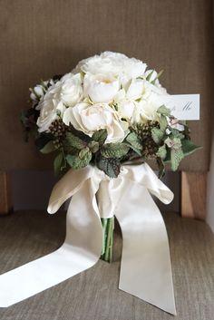 Bouquet Alyssa:ブラックミント&ローズのブーケ&ブートニア | ハンドメイドマーケット minne