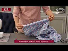 [천가게]면원단으로 추석맞이 철릭원피스 만들기 / DIY Make a Hanbok - YouTube