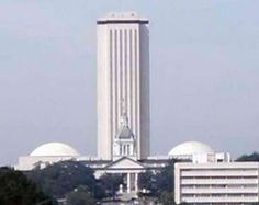 The Florida State capital building - apparently it's been voted the most phallic building in the world.