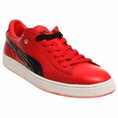 factory price 70b0b 425ac Puma Basket Classic PP Zapatos Deportivos, Zapatos De Hombre, Rojo,  Compras, Ropa
