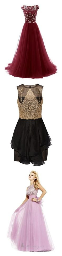 """""""Homecoming"""" by blah-blah-blah-black ❤ liked on Polyvore featuring dresses, gowns, red formal dresses, formal dresses, formal prom dresses, cocktail prom dress, red prom dresses, mini dress, black and embroidered cocktail dress"""