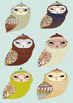 Owls, Ashley Percival