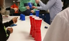 Cup Game for Teaching Students How to Work Collaboratively
