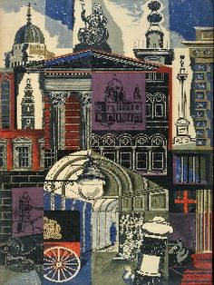 London Transport Poster - City II: Edward Bawden