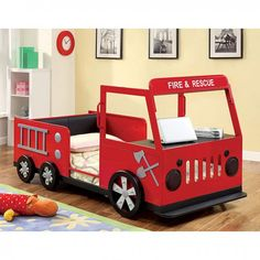 Twin Bed Rescuer Collection CM7767