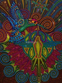 « hummingbird 2011 digital » par karmym
