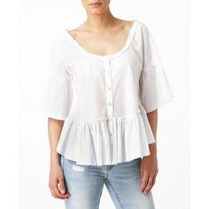Kajsa blouse, 299.00 SEK, Blusar & skjortor, Gina Tricot ($46) via Polyvore