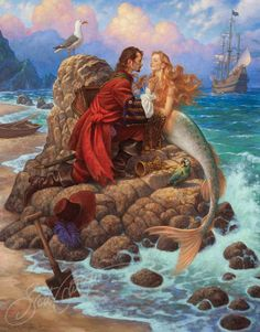 The Pirate and the Mermaid — The Art of Scott Gustafson