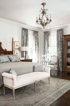 THAT RUG WITH MY FLOORS. FrenchInspired Family Home - Home Bunch - An Interior Design & Luxury Homes Blog