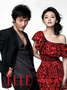 Huang Xiao Ming & Barbie Hsu
