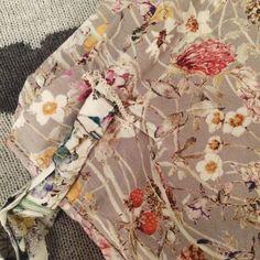 Liberty wildflowers pyjamas - Tilly and the Buttons Margot pyjamas pattern - Kate Eva Designs