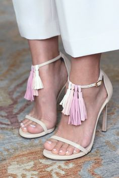 DIY Tassel Sandals | HonestlyWTF