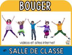 Michelle Dupuis Education: BOUGER EN SALLE DE CLASSE