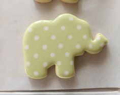 elephant+cookie+cutter   Once the elephants are complete, use 20-second icing to cover the ...