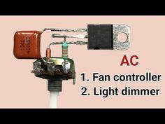 Ac Fan, Batterie Lithium, Plywood Shelves, Electronic Circuit Projects, Electronics Basics, Dim Lighting, Luz Led, Soldering, Science And Technology