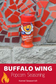 Go nuclear! Make your popcorn as hot as nuclear wings. Our Buffalo Wing seasoning lets you pour on the perfect amount of the tangy, spicy, buttery flavor you love. Kernel Season's, Popcorn Seasoning, Buffalo Wings, Drink Bottles, Spicy, Seasons, Make It Yourself, Drinks, Hot