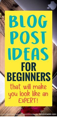 Blog Post Ideas for Beginners that will instantly level up your brand and make you look like an expert in your niche!   #heyjudess #bloggingtips #bloggingforbeginners #bloggingfornewbies