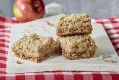 Fondation OLO   Recette   Carrés aux pommes Krispie Treats, Rice Krispies, Bon Dessert, Mousse, Biscuits, Snacks, Quiches, Foodies, Simple