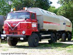 IFA L 60 1218 4x4 ND LAK - LAK-Hängerzug, leicht absetzbarer Koffer 4x4, Beast From The East, East Germany, Vintage Trucks, Car Humor, Luftwaffe, Big Trucks, Jeep, Transportation