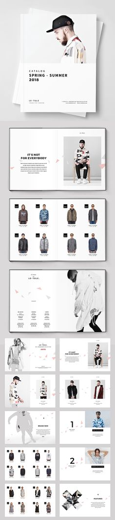 Fashion Catalog Brochure Template