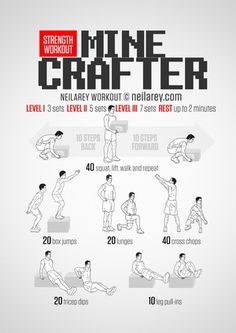 Minecrafter Workout