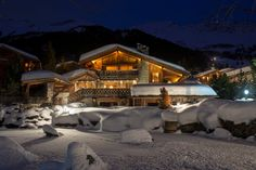 This magnificent ski-in / ski-out Alpine home, nestles on the banks of a pond in the exclusive Hameau development. The chalet boasts an impressive private spa facility located 100m from the main building housing a pool, sauna, gym, Jacuzzi and massage room. The main house is also equipped with a hammam.  http://www.ultimateluxurychalets.com/luxury-chalet-makini-verbier