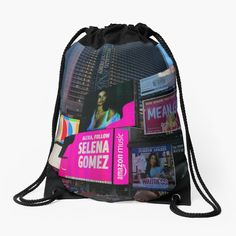 Iphone Wallet, Iphone Cases, Selena Gomez Music, Zipper Pouch, New York City, Drawstring Backpack, Tote Bag, Printed, New York