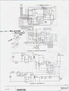 Gas forced-air furnace diagram (shows direction of airflow