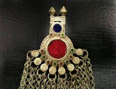 Afghan Tribal Kuchi Pendant Handmade Boho Antique Pendant Traditional Indian Beautiful Unique Ethnic Vintage Banjara Gypsy Pendant Jewelry. by RareFindingsUS on Etsy