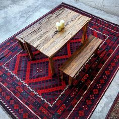 Work Begins On The New Sitting Area At Our Rozelle Warehouse Kilim Rustic