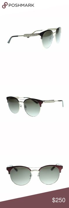 NWT Authentic Unisex Gucci Round Sunglasses NWT Authentic Unisex Gucci Round Sunglasses  Metal Frame Metal Lens Non-Polarized 100% Authentic  Style Code: GG0075S  Comes with all Retail Packaging!! Gucci Accessories Sunglasses