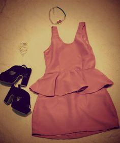 #pinkpoplindress by @Agostina Nikolaus