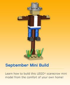 LEGO Monthly Mini Model Build: September 2011 – Smashing Bricks