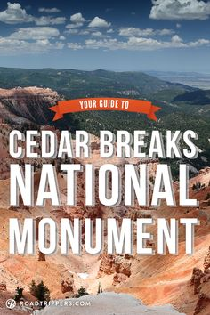 Although there are many special places to see in the United States, few offer a spectacular view similar to Cedar Breaks!